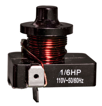 Push On Relay 1/3Hp-110V FSD-RP-13