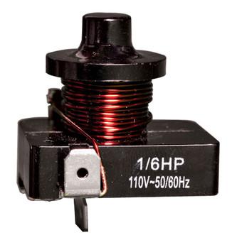 Push On Relay 1/5 Hp-110V FSD-RP-15