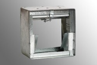 "Metals - 14""x 10"" Horizontal Fire Damper"