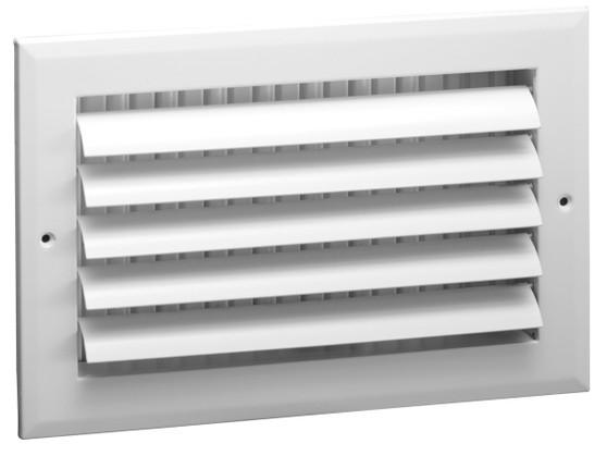 Sidewall W/ O.B Damper 10X4 VOB-10X4-GTI