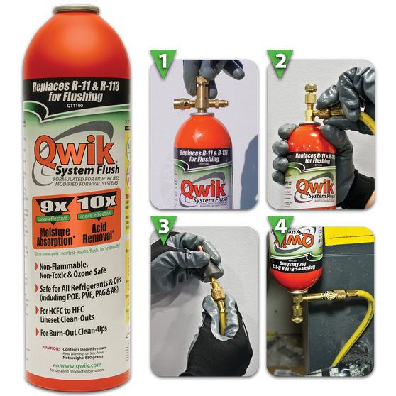 Qwik System Flush: 2lb Aerosol Can