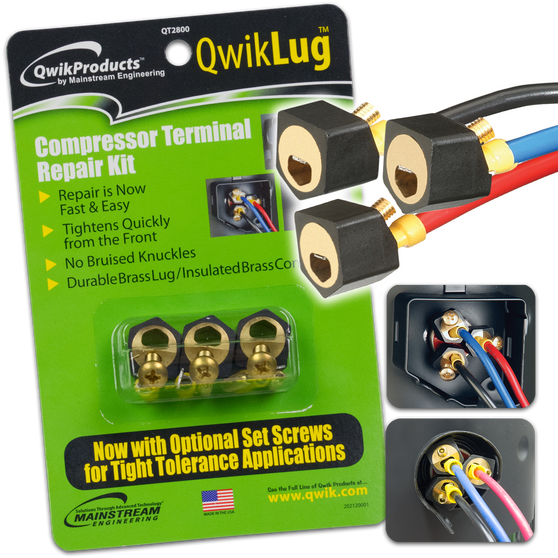 QwikLug: 3 Terminal Repair Lugs without wires