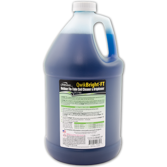 QwikBrightTM-FT Outdoor Fin-Tube Coil Cleaner: 1 Gallon