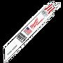 "Milwaukee - 6"" 24 TPI Thin Kerf SAWZALL Blades (5pk)"