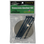 QwikHurricane Pad: Optional Concrete Anchor Kit