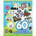 Perler Nature Pattern Pad  - 60 Patterns