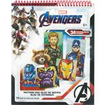 Perler Avengers Pattern Pad