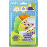 Perler Pegboard 2-Pack Owl & Hedgehog