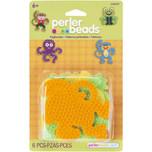 Perler Pegboards 4-Pack Dog, Monkey, Frog & Octopus