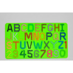 Alphabet & Numbers Pegboard