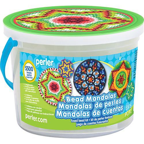 Perler Mandalas Activity Bucket