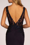 Lace Open Back Rome Jersey Long Dress - Multi Colors Available