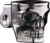 The Skull Kruzer Kaddy Chrome Bar Mount