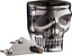 The Skull Kustom Kaddy Chrome Perch Mount