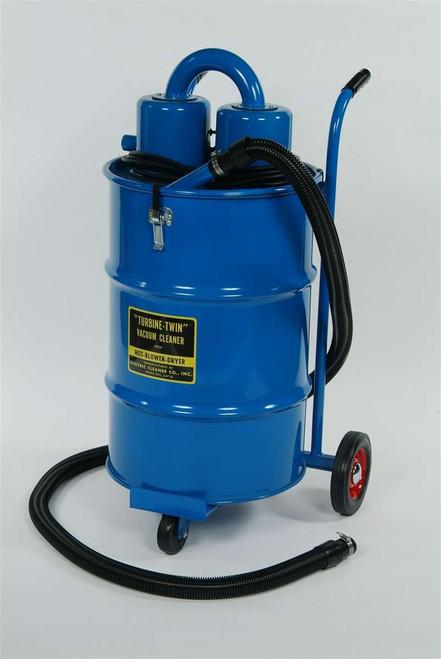 55 Gallon Turbine Twin Vacuum