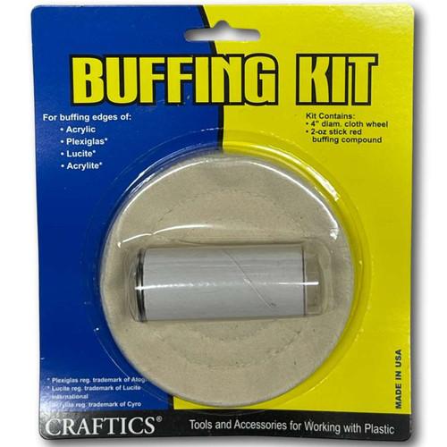Acrylic Buffing Kit with Polish