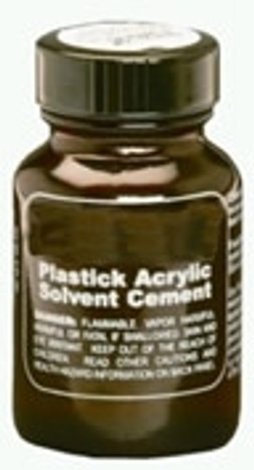 Acrylic Solvent Cement for aquariums and other projects.