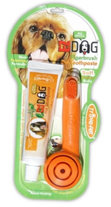 Pet Fingerbrush Dental Kit