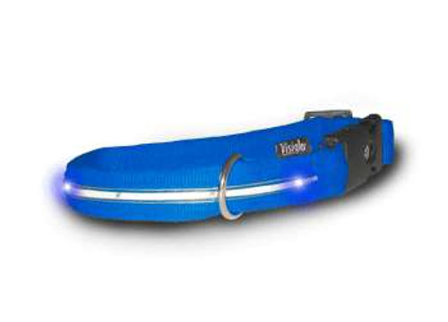 Visiglo Blue Collar with LEDs