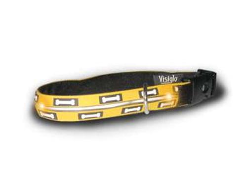Visiglo Bones Collar with LEDs