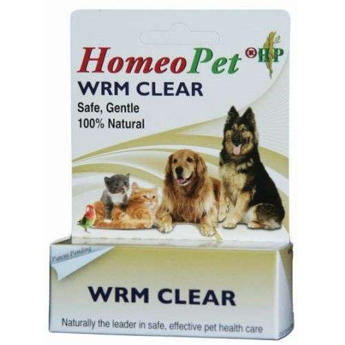 Homeopet WRM Clear Remedy