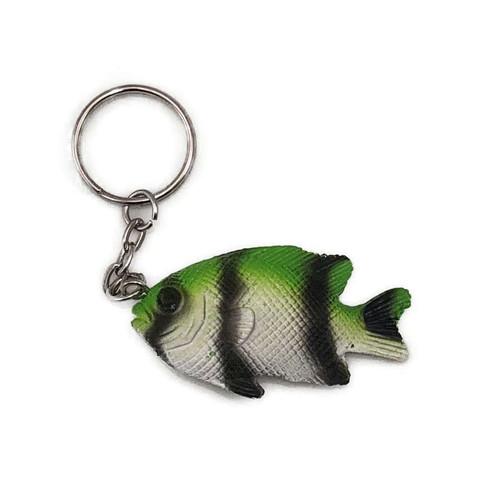 Keychain - Green Damsel Fish