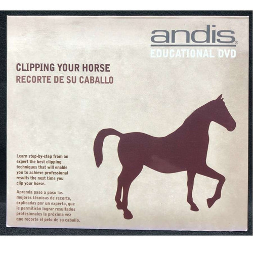 Andis DVD - Clipping Your Horse