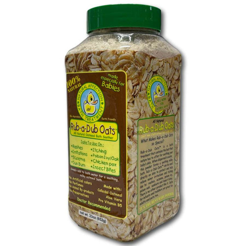 Laube Rub-A-Dub Oats for itchy dog skin