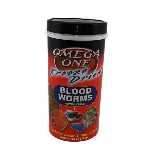 Omega One Blood Worm Treats - .96oz