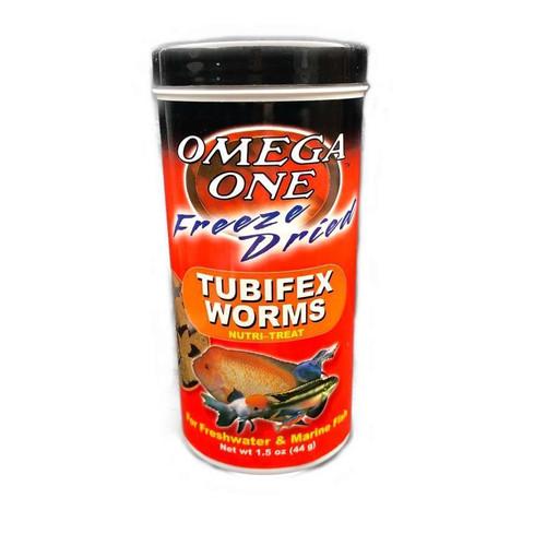 Omega One Tubifex Worms - 1.5oz