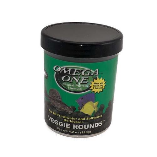 Omega One Veggie Rounds - 4.2oz