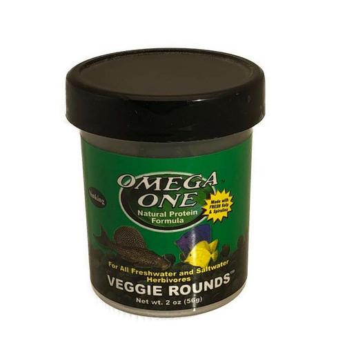 Omega One Veggie Rounds - 2oz