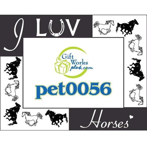 Frame - I Love Horses