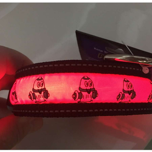 Polybrite Lighted Collars - Hydrant Design