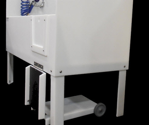 Poly Pet Tubs PRD58HX with hinged ramp and accessory package