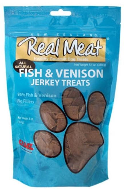 Real Meat Fish & Venison Jerky Treats