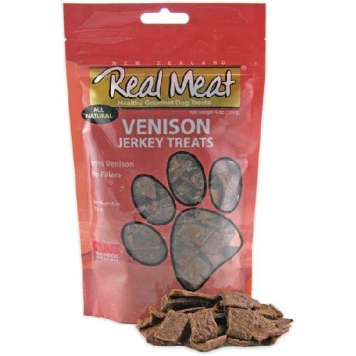 Real Meat Venison Jerky Treats - Dog Treats - North Coast Pets