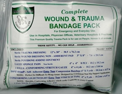Wound & Trauma Bandage Pack