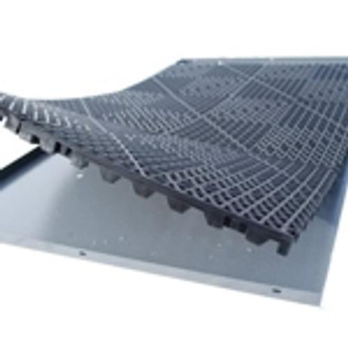 Zinger rubber crate mat