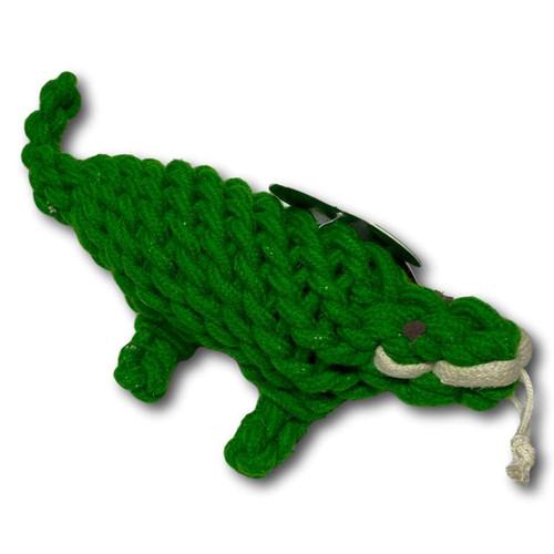 Ropie Gator Crinkle Toy