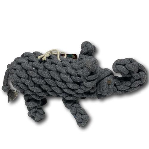 Ropie Elephant Crinkle Toy
