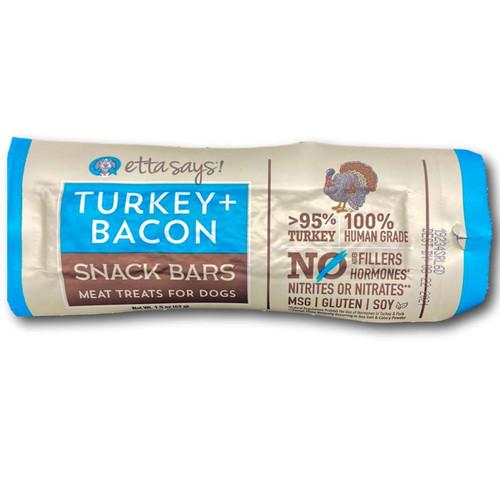 Turkey + Bacon Snack Bars