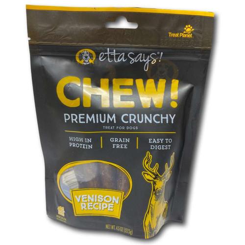 Premium Crunchy Venison Chews