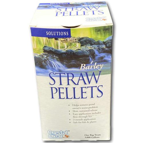 Crystal Clear Barley Straw Pellets