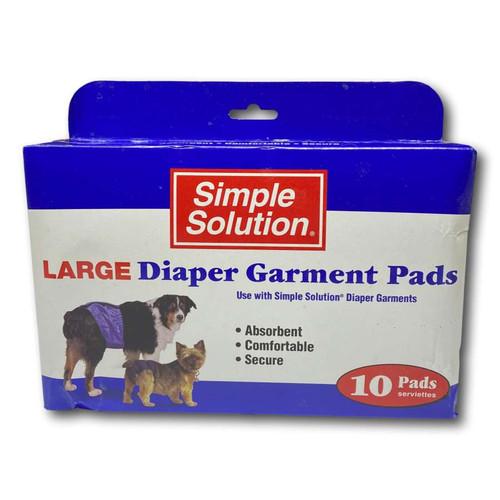 Diaper Garment Pads - Large