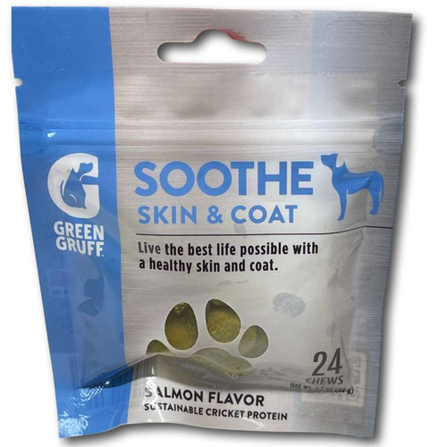 Green Gruff Soothe Skin & Coat Support - 24ct
