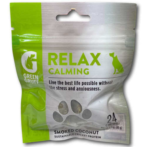 Green Gruff Relax Calming Support - 24ct