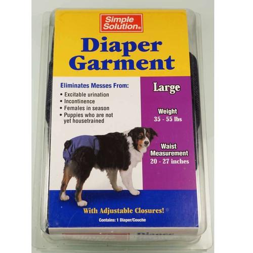 Diaper Garment Large