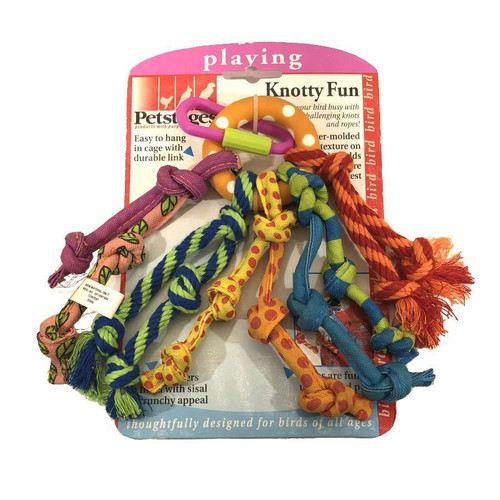 Petstages Knotty Fun Bird Toy