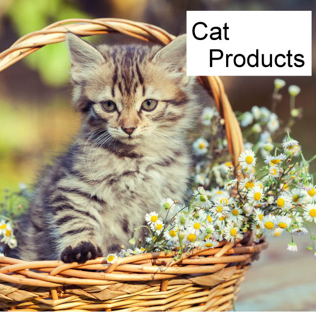 Products for cats and their owners